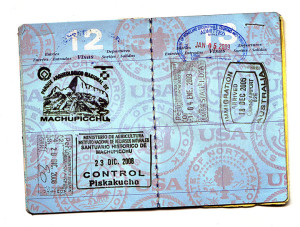 A valid passport is required for all international travel