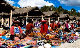Traditional Market in Sacred Valley