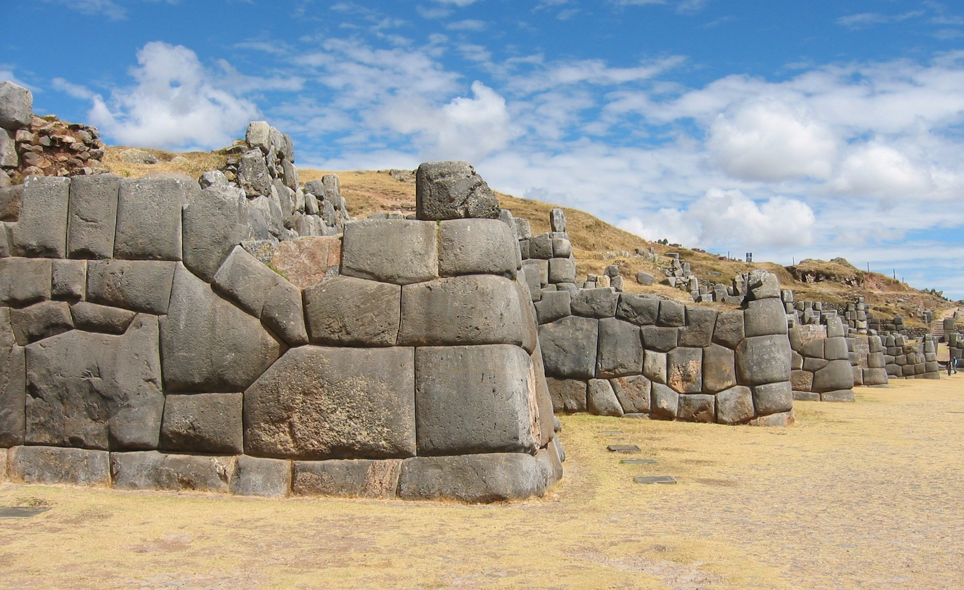 Sacsayhuaman Attraction Cusco on Cypress Drawings