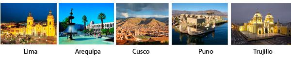 Ciudades Peru