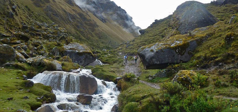 River in the Salkantay Trek to Machu Picchu