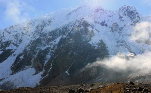 Salkantay peak in the Salkantay Trek