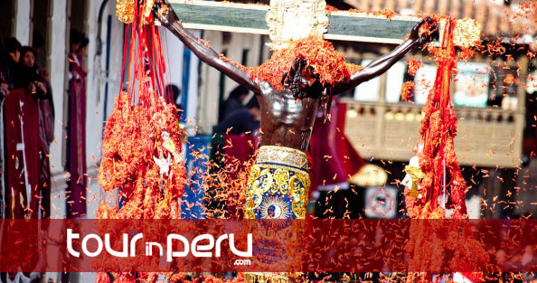 A traditional celebration of holy week in Cusco